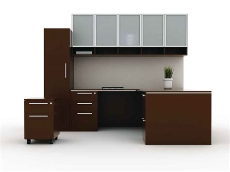 modular desks for home office how to transform a busy office into the adorable one with