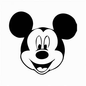 mickey mouse face template clipart best With mickey mouse face template for cake