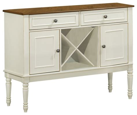 Antique White Sideboards And Buffets by Antique White Oak Veneer 48 Quot L Server Transitional