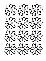Daisy Coloring Scout Printable Pages Printables Flower Daisies Scouts Activities Template Outline Puzzles Word Flowers Pattern 2009 Clip Sheet Printables4kids sketch template
