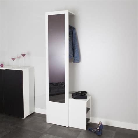 Meuble Vestiaire Chaussure Pour Entree Vestiaire Blanc 4025a0200x00 Achat Vente Meuble