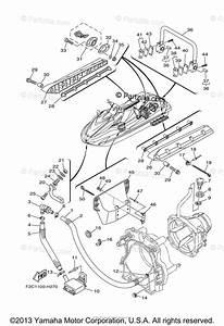 Yamaha Waverunner 2009 Oem Parts Diagram For Hull Deck