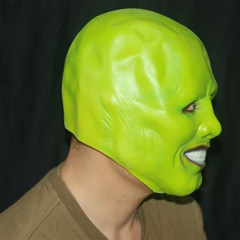 mask jim carrey cosplay green mask costume  fancy