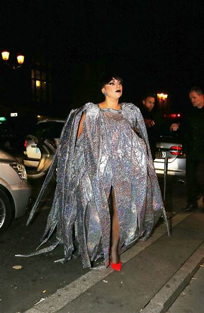 Gaga Lady Crazy Wears Gifs Plastic Inflatable