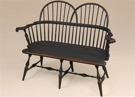 Classic Settees by Historical Sack Back Settee