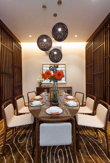 serene asian dining room designs   charm