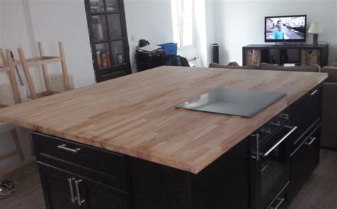rallonge plan de travail cuisine rénovation de cuisine avec plans de travail en hêtre