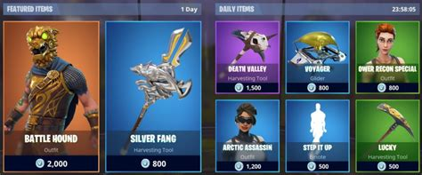 whats    fortnite item shop today