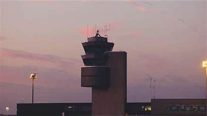 Tower Cinemagraphs Traffic Air Control Cinemagraph Animated