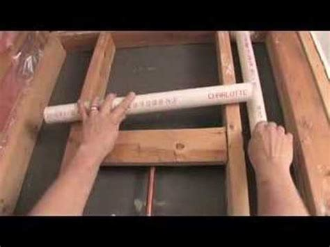 plumbing vent pipe tip youtube