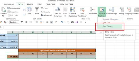 excel what if analysis data table what if analysis data tables in excel excel bytes