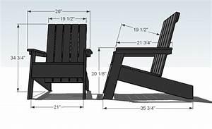 Ana White Modish Adirondack Chair - DIY Projects