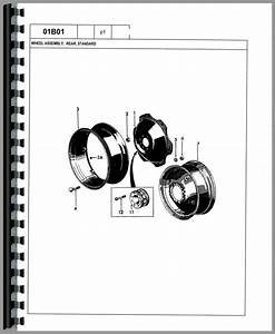 Ford 545a Industrial Tractor Parts Manual