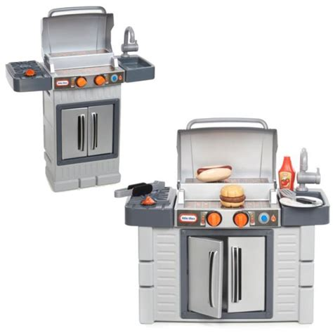 tikes kitchen with grill tikes cook n grow bbq grill