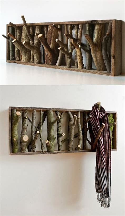 10 Coolest DIY Wall Hook And Coat Rack Ideas   Home Design