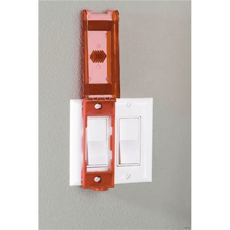 master lock no 496b universal wall switch cover security lock
