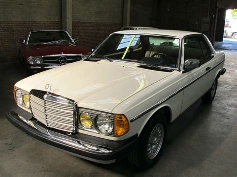Mercedes Motoring  1985 300cd Turbo Diesel Coupe