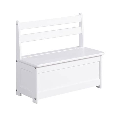 Interesting Stunning Best Banc Coffre Jouet En Bois Blanc