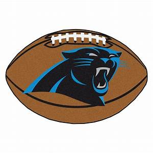 FANMATS NFL Carolina Panthers Brown 1 Ft 10 In X 2 Ft