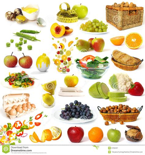 Ibu Hamil Vitamin C Healthy Food Collection Stock Image Image Of Assortment