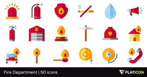 Download as svg vector, transparent png, eps or psd. Fire Department 50 free icons (SVG, EPS, PSD, PNG files)