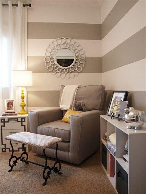 Streifen An Der Wand Ideen by Graue Streifen An Der Wand Babyzimmer R 228 Ume