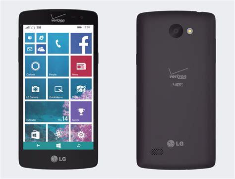 update verizon phone verizon s windows phone of 2015 is the lg lancet