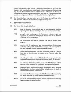 uk commercial lease agreement template commercial lease With lease for commercial property template