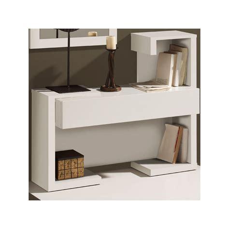 cuisine blanche contemporaine meuble d 39 entrée laque blanche univers petits meubles