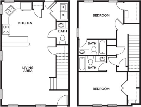 u club cottages baton floor plans u club cottages student apartments in baton