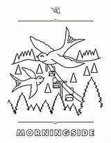 Coloring Steamboat Pages Mountain Rich Text Morningside sketch template