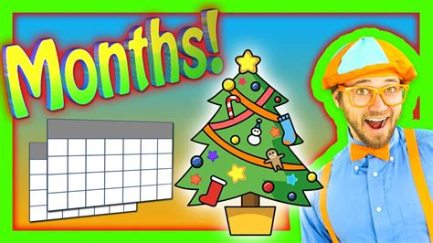 Nursery Rhymes - Months of the Year Song - YouTube