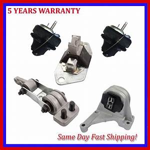 For Volvo S80 V70 Xc70 Xc90 New 2 3l 2 4l 2 5l Engine Motor Mount Set Of 5pcs