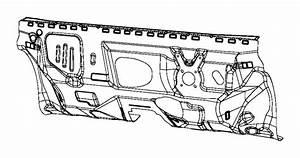 2017 jeep renegade panel dash 68357401aa mopar parts inc With jeep renegade dash