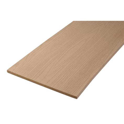 home depot trex decking colors composite brown fascia boards deck fascia decking