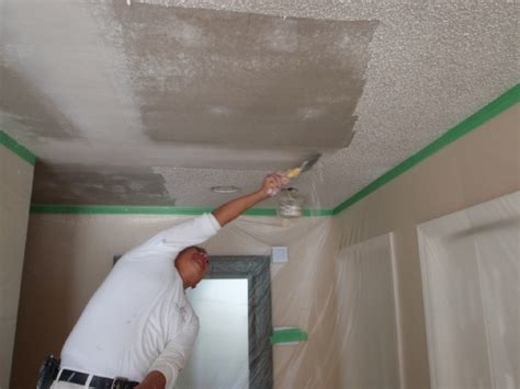 Scraping Popcorn Ceiling Diy by Diy Popcorn Ceiling Removal Guide Homeyou