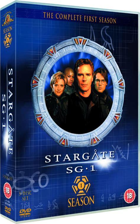 stargate sg  season  box set dvd zavvi