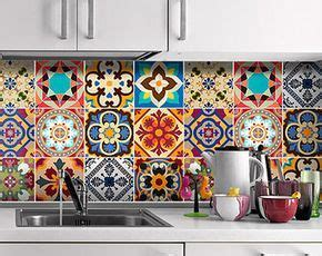 Fliesenaufkleber Lina by Carrelage Adh 233 Sif Talavera Tile Stickers Tile Decals
