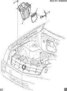 2004 Cadillac Cts Wiper Control Module