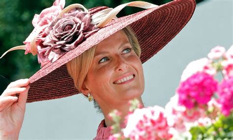 The Countess of Wessex looks ultra glam rocking pink ...