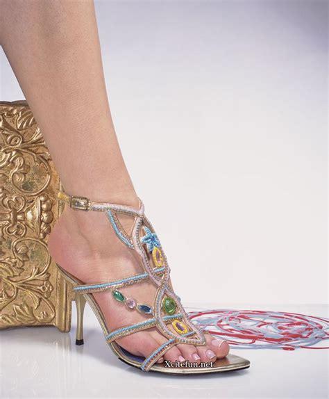Rishton Leather High Fancy Heel Shoes - XciteFun.net