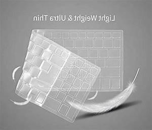 Premium Clear Keyboard Cover For Hp Elitebook 840