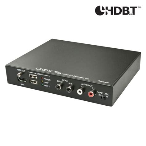 C6 HDMI 2.0 Receiver Pro with HDBaseT - from LINDY UK