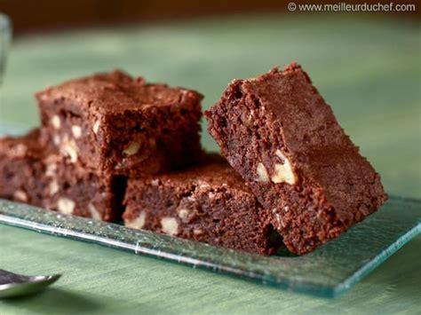 recettes cuisines faciles brownies au chocolat noir notre recette avec photos