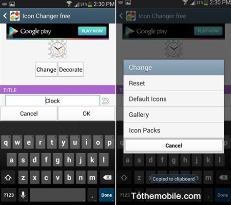 how to change home screen on android how to change android default icons with third icon