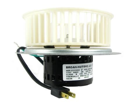 Nutone Bathroom Fan Motor Ja2c394n by Nutone 0696b000 Motor Assembly For Qt100 And Qt110 Series