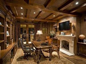Elegant Most Beautiful Home Office Interiors Luxury Office ...