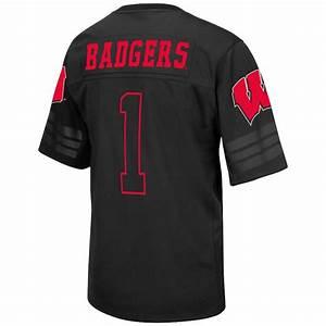 Mens NCAA Wisconsin Badgers Football Jersey [EXJF10079B ...