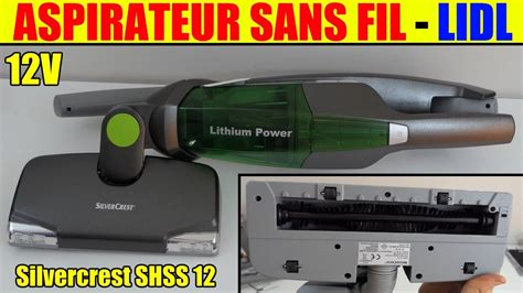 aspirateur sans fil lidl silvercrest 12v vacuum cleaner akku und bodenstaubsauger