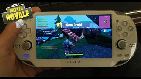 """Playing """"fortnite On The Go With A """"psvita Playstation"""